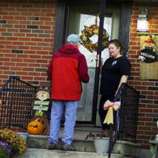 Knocking on Voters' Doors feature