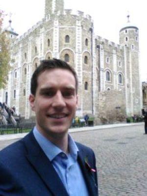 David at the Tower of London