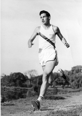 Cross Country runner, ca. 1960s.