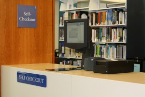 Bentley Library Self-Checkout