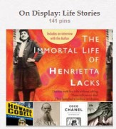 On Display: Life Stories via Pinterest
