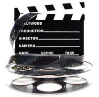 film reel and slate