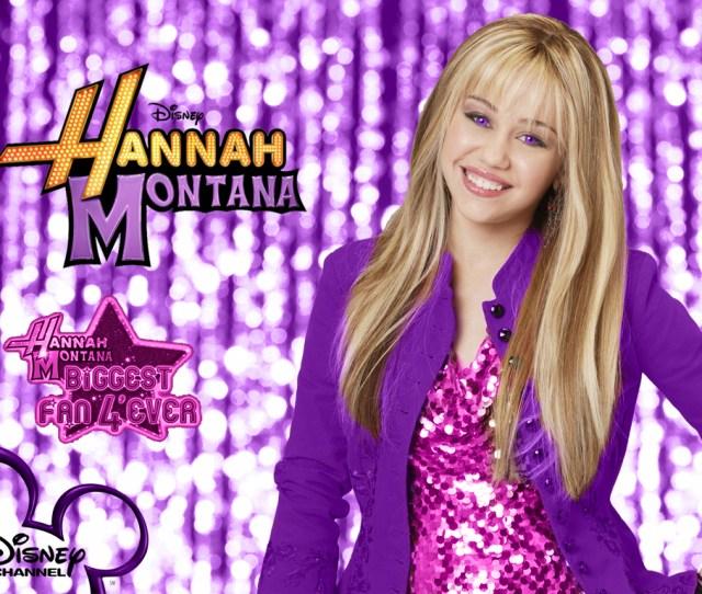 Hannah Montana Season  Purple Background Wallpaper As A Part Of  Days Of Hannah By Dj Hannah Montana