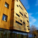 Faculty of Health Studies building at University of Bradford.