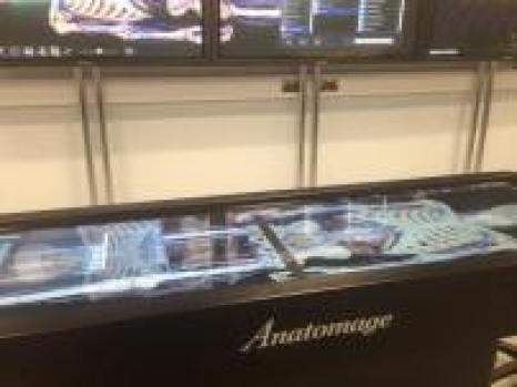 Anatomage table.
