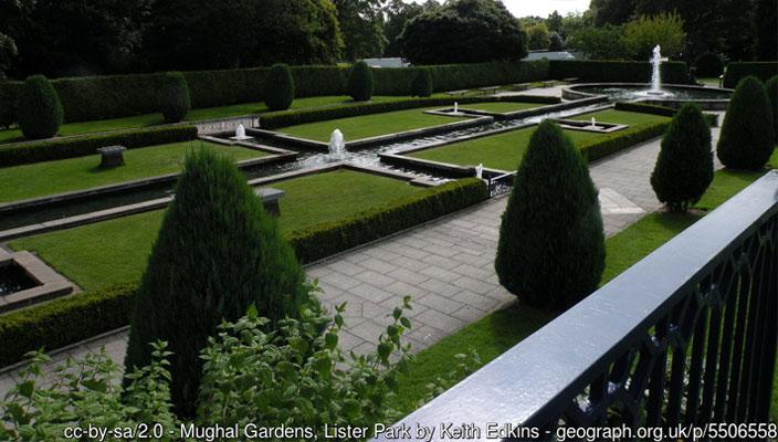 Mughal Gardens, Lister Park, Bradford