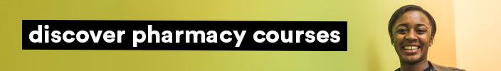 Pharmacy courses banner.