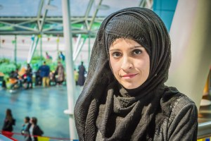 Amreen Mehnaz, an Adult Nursing student at the University of Bradford.
