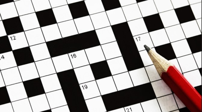 CROSSWORD LOVERS, TAKE NOTE!