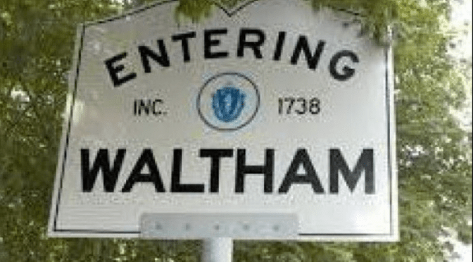 THE WALTHAM MATTERS SIG:  Cornelia Warren