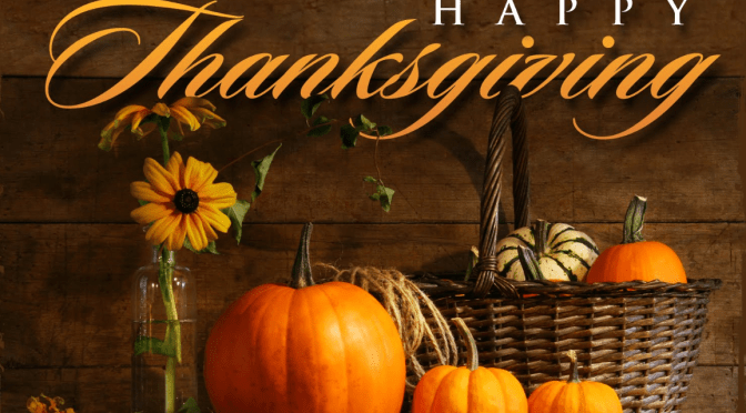 Thanksgiving Thoughts from Our Writers Guild