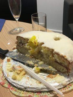 Half a cake
