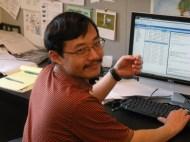 Heng Xu, grad student