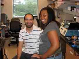 Michelle and Mark, NSF summer program