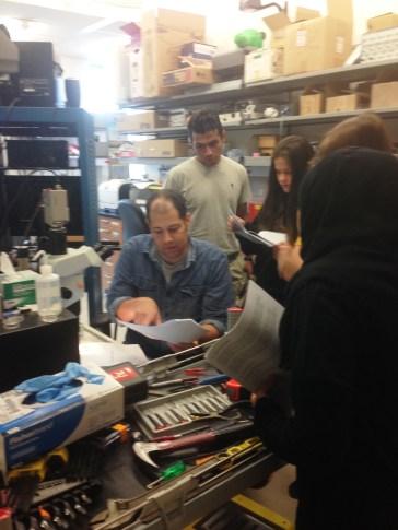 Talbot students visit