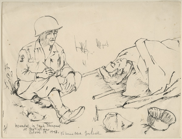 World War Two drawings acquired « Anne S. K. Brown ...
