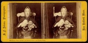 Portrait of Nancy Luce. Photograph by Joseph W. Warren.