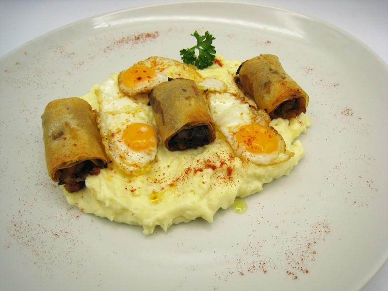 Tapa de huevos