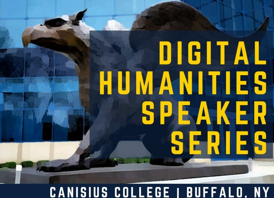 Digital Humanities Speaker Series: Dr. Erin Warford