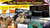 Snapshots of BIOSI: The 3-word Photo Contest