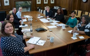 The Lawyers with Disabilities Division of the Law Society having a meeting