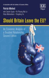 Should Britain leave the EU?: an economic analysis of a troubled relationship. Second edition / Patrick Minford.