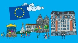 Poster for Europe Day 2016