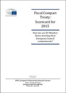 Fiscal Compact Treaty : scorecard for 2015 / European Parliamentary Research Service