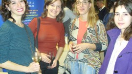 Students at the Erasmus Reception