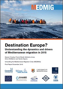 Destination Europe? Understanding the dynamics and drivers of Mediterranean migration in 2015 / MEDMIG
