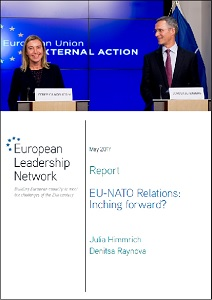 EU-NATO relations : inching forward? / European Leadership Network