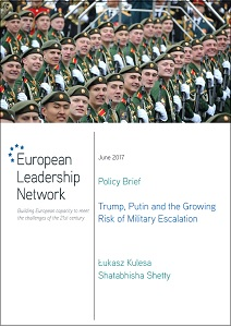 Trump, Putin and the growing risk of military escalation / European Leadership Network