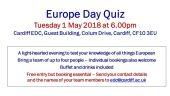 Europe Day Quiz 2018