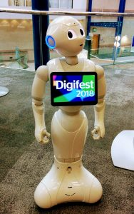 image of digifest robot