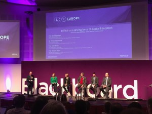 Image of Blackboard panel discussion