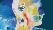 Abstract watercolour mental health image