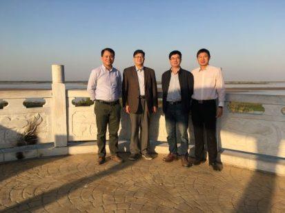 l-r: Tang, Pan, Chen and Dou