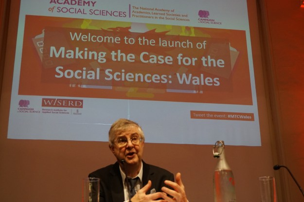 Minister for Health and Social Services, Mark Drakeford, AM, gives the welcome address