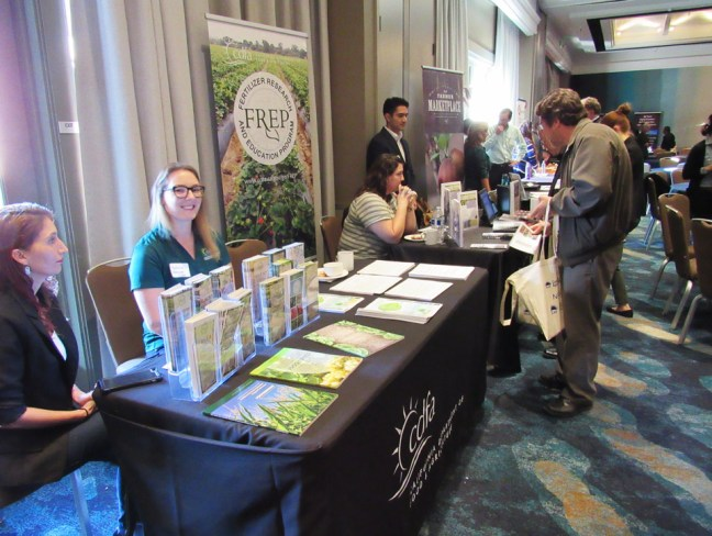 FREP materials at agriculture conference.