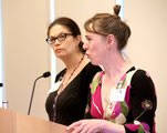 Felicity Parsons and Fiona Rintoul