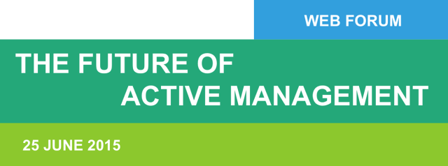 The Future of Active Management