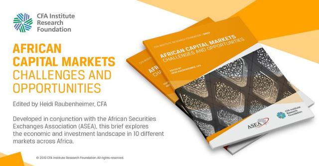 Ad for African Capital Markets: Challenges and Opportunities