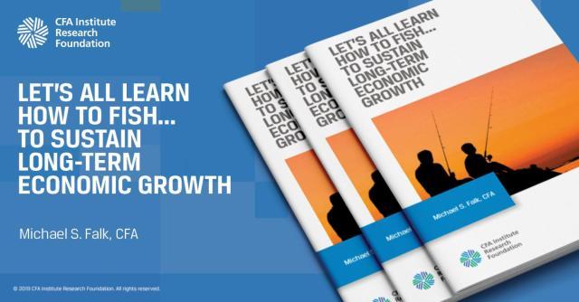 Annonce pour Let's All Learn How to Fish. . . Soutenir la croissance économique à long terme