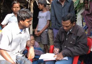 Interview in Bihar