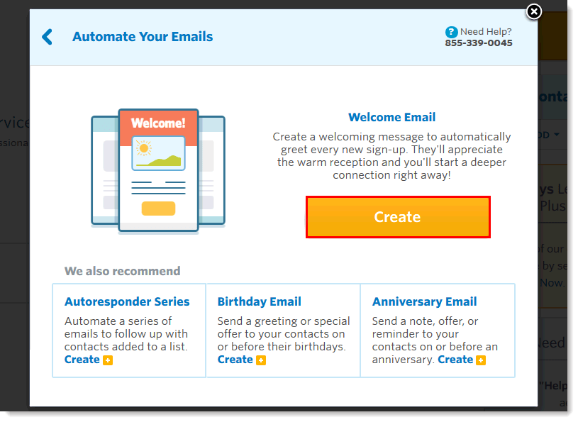 constant contact email automation tool