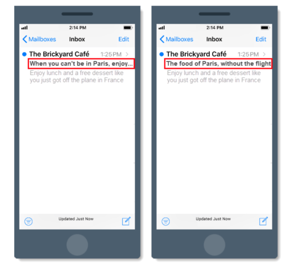 great email designs are mobile-responsive