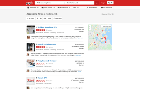 Want to know How to Get Tax Clients? Keep Yelp listing current and stay on top of reviews