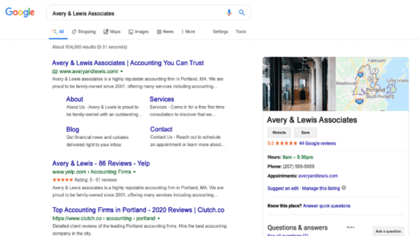 consultant reviews show up in Google Search