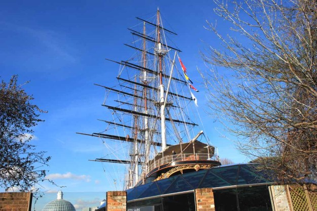 The Cutty Sark, Viewed From Beer Garden