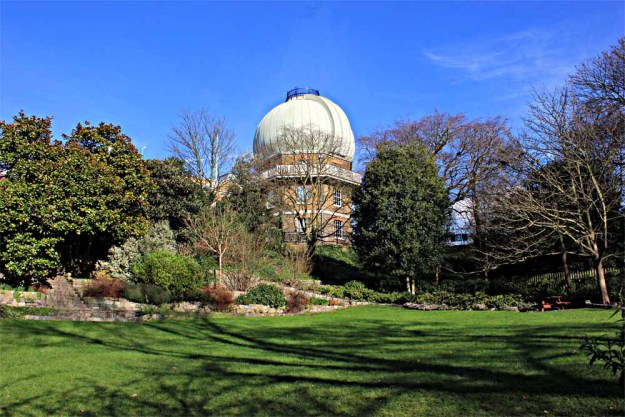 Dome Seen From the Astronomer's Garden